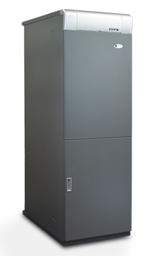 DOMUSA MCF-30 HDXVE grupo térmico de fundición con acumulador inox., con control electrónico  de 27,8 Kw., acumulador de 100 litros.