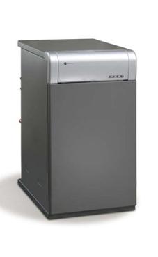 DOMUSA Sirena Mix Duo 25 HV-e de acero de pie con control electrónico mixta de 28,2 Kw.