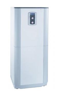 CHAFFOTEAUX-MAURY PHAROS GREEN 35 FF EU caldera de condensación  de pie de 34,3 KW con acumulador de 105 l. y display LCD, con kit de evacuación de gases